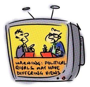 Debate Cartoon