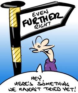 Rightwards Cartoon