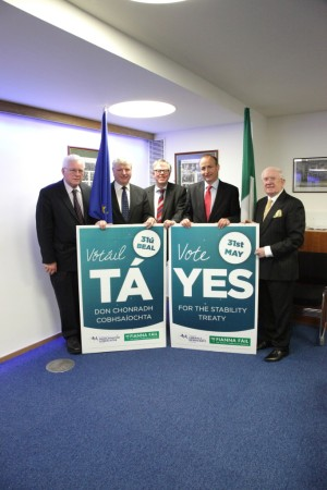 Fiscal Compact in Ireland - YES Campaign [MEP] Olle Schmidt support